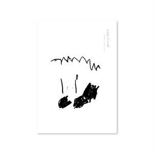 drawingポスター [monotone]