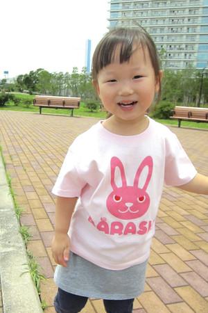 ウサバラシ キッズ半袖Tシャツ 親子おそろいTシャツ