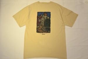 USED 90s JANSPORT T-shirt -Large 01026