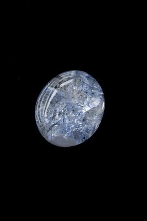 貫入 Dumortierite in quartz - 058