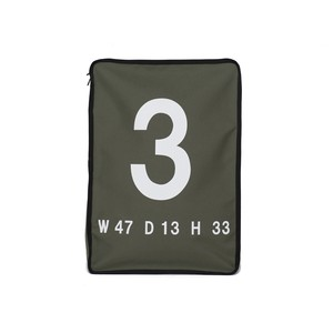 LORINZA No.3 Travel Pouch LO-STN-PC03 Olive