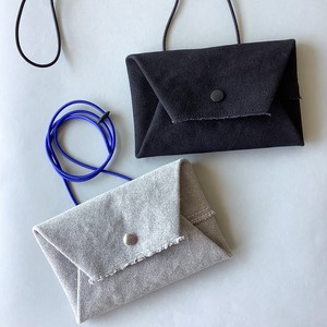 how to live - Long Wallet -  Topgray×Blue / Black×Black