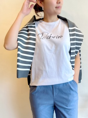 """MICA&DEAL / """"Dickerson""""ロゴソフトT-shirts"""
