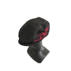 西陣織ハンチング帽HT0038 サイズM.S 桜柄