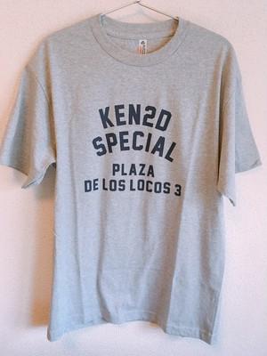 KEN2D SPECIAL PLAZA DE LOS LOCOS 3 Tshirt (グレー)