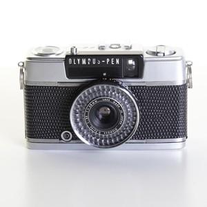 テスト用フィルム1本&現像代込み!F3.5 28mm PEN EE-3 OLYMPUS オリンパスペン EE-3  [ジェットブラック] ハーフ コンパクト 中古フィルムカメラ