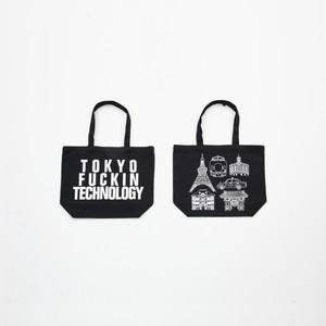 Anoraks | TOKYO FUCKIN TECHNOLOGY TOTE [Black]