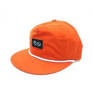 scar /////// BLOOD 5 PANEL NYLON CAP (Texas Orange)