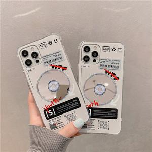 ディスクデザインシリコンiPhoneケース S4246