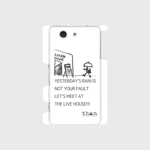 Xperia Z3 Compact(SO-02G)対応【than / LET'S MEET AT THE LIVE HOUSE!!!】than original phone case