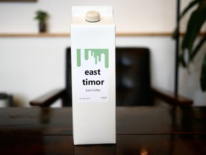 東ティモールリキッドアイスコーヒー(無糖)