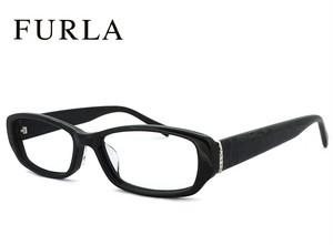 フルラ メガネ FURLA 眼鏡 ジャパンフィット モデル VU4806j-700x ブラック レディース 女性用 おしゃれ 人気