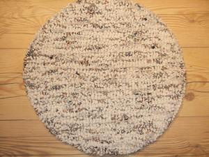 35cm丸ズパゲッティチェアパッド