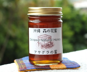 沖縄の蜂蜜・森の花蜜 (アサグラの蜜)200g [送料無料]