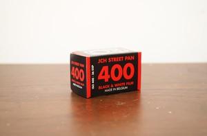 【モノクロネガフィルム 35mm】JCH(ジェイシーエイチ) JCH STREET PAN 400 36枚撮り