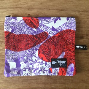 "ミニポーチ mini pouch ""jungle here""A03"