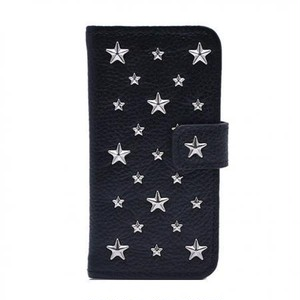 ENLA BY ENCHANTED.LA NOTEBOOKTYPE LEATHER STARS CASE / SV925 Silver Custom