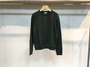 "40%OFF niuhans""Wool Cashmere Elbow Patch Sweater Olive"""