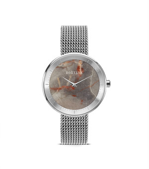 THE STONE WATCH ELEGANCE SILVER