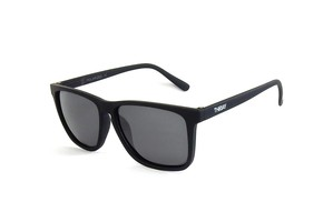 DANG SHADES RECOIL Black Soft x Black Smoke Polarized THedAY designed model