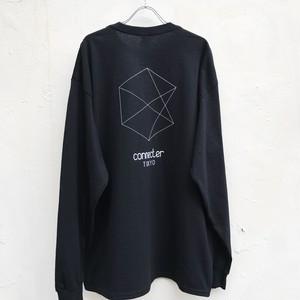 【受注生産】Connecter Tokyo back print logo long sleeve tee black