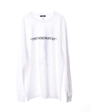 THE FASCINATED × LEEGET L/S Tee -White-