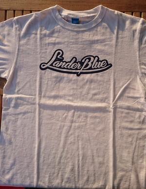 ランダーブルーオリジナルTシャツ・ホワイト