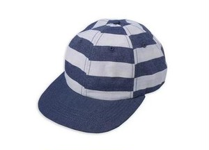 QUASI / DENIM CAP / WHITE/NAVY