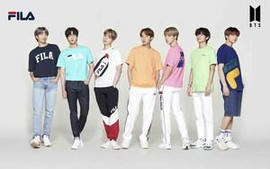 グローバルアーティスト BTS FILA x BTS L-Holder Tシャツ