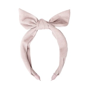 H1431P Shimmer Tie Head Band Pink