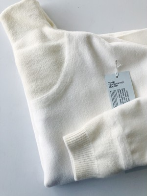 TENNE HANDCRAFTED MODERN  W&K HIGH-NECKED PULLOVER