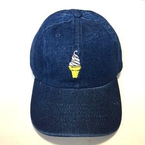 「ソフトクリーム」デニムキャップ