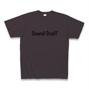 「Sound Staff」Tシャツ チャコール