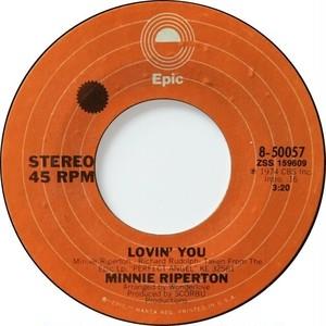 Minnie Riperton – Lovin' You / The Edge Of A Dream