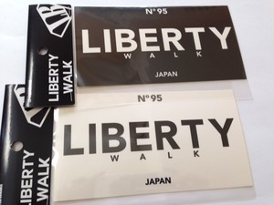 LB US sticker (Black / White)