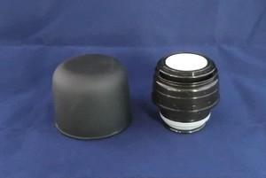 銀未来ボトル ワンプッシュ形 ブラック キャップ一式 GMPB黒-キャップ一式