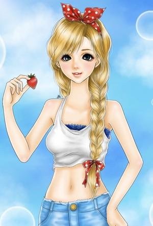 ポストカード StrawberrySummer
