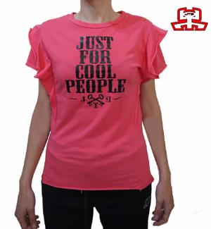 【JTB】 MANICA A STRATI Tシャツ【ピンク】【再入荷】イタリアンウェア【送料無料】《W》