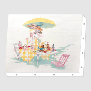 okappalover「Lunch」アートキャンバス F0サイズ
