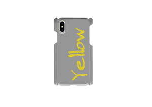 "【受注発注】words color series ""Yellow"" iphone case / iPhone6/7/8/Xその他/Galaxy/Xperia/ARROWS/AQUOS/Huawei"