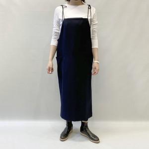 KAMILi(カミリ)wool blend apron dress 2020秋冬新作 [送料無料]
