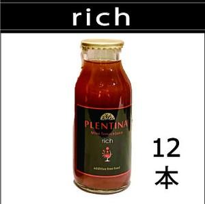 【rich  リッチ】 180ml×12本  プレンティーナミニトマトジュース