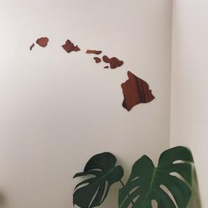 コアウッド製 ハワイ諸島