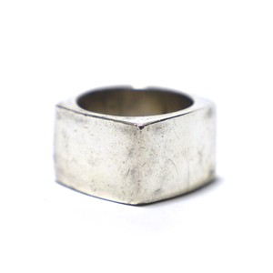 Vintage Sterling Silver Mexican Square Ring