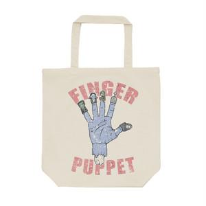 [トートバッグ] finger puppet