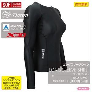 SOFT Women's ロングスリーブ ブラック ¥11,000(+Tax)