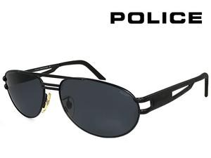 ポリス ヴィンテージ サングラス 2328-531 police レトロ 訳あり メンズ ティアドロップ ツーブリッジ バネ蝶番 UVカット メタル