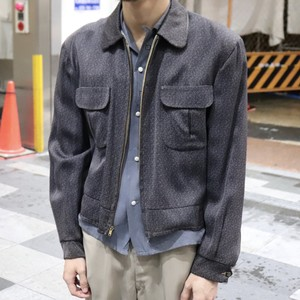 50's reversible gabardin jacket  50年代 ギャバジャン リバーシブル A750