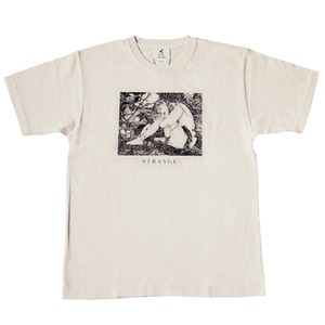 ピグメントダイTシャツ 「STRANGE」