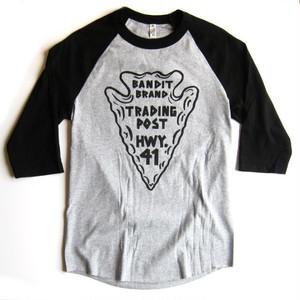 "Bandit Brand ""Trading Post"" baseball tee #BBMBB-tpHB"